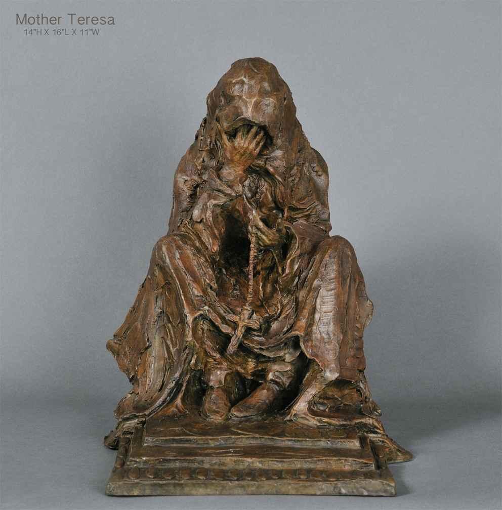 Mother Teresa 3/15 by Mr. Richard Loffler - Masterpiece Online