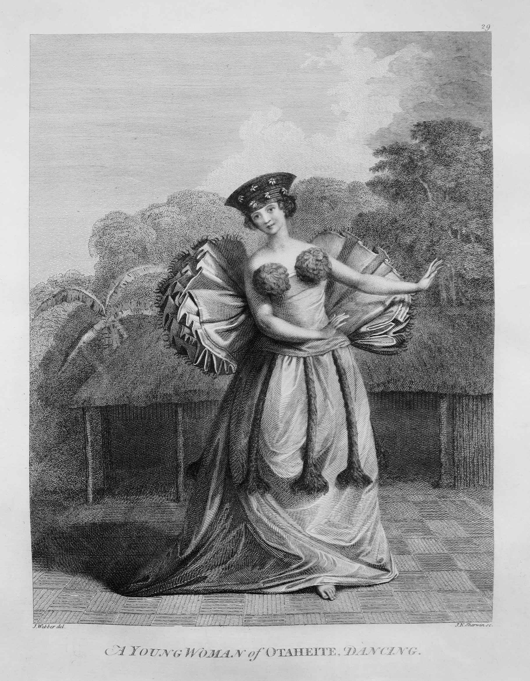 A Young Woman of Otah... by  John Webber (1752-1793) - Masterpiece Online