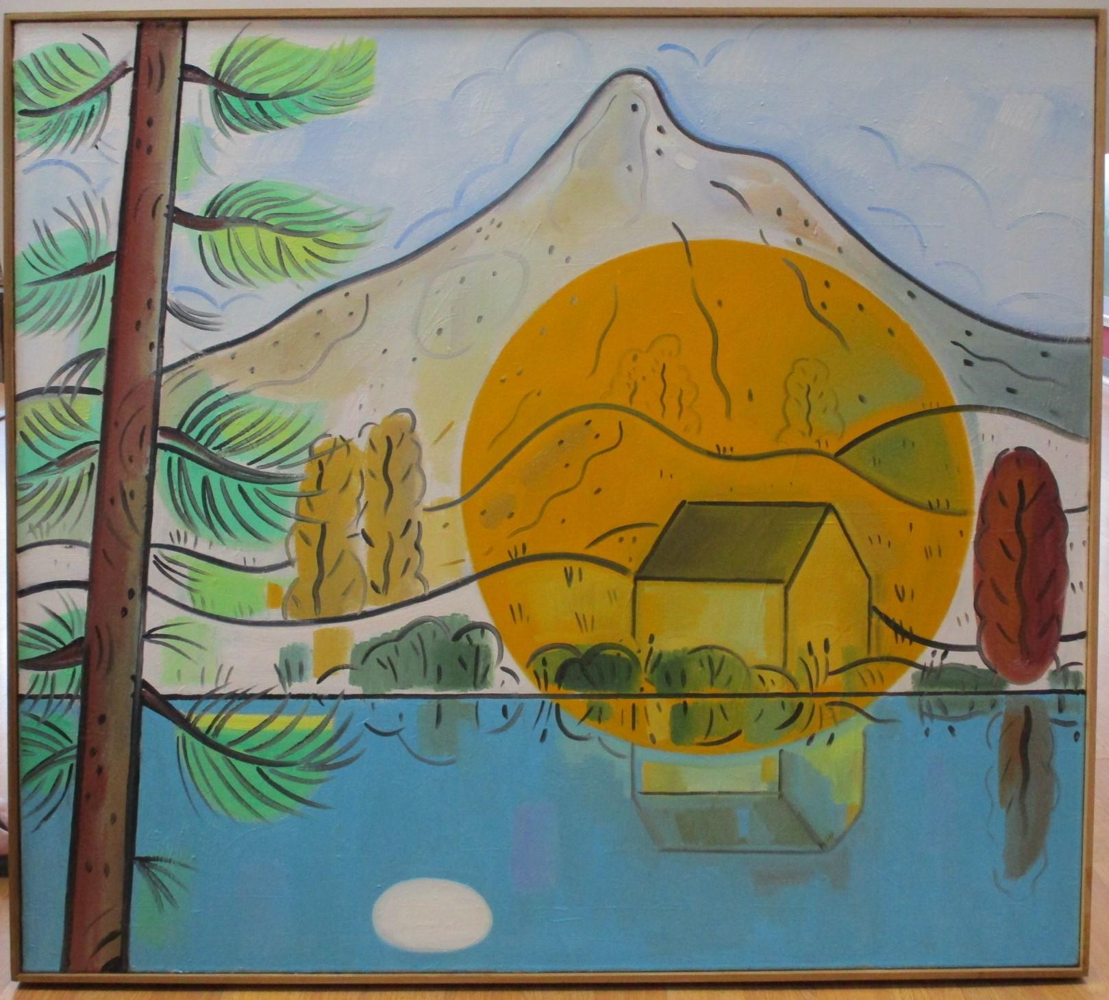 Yellow Circle by  Richard Thompson - Masterpiece Online