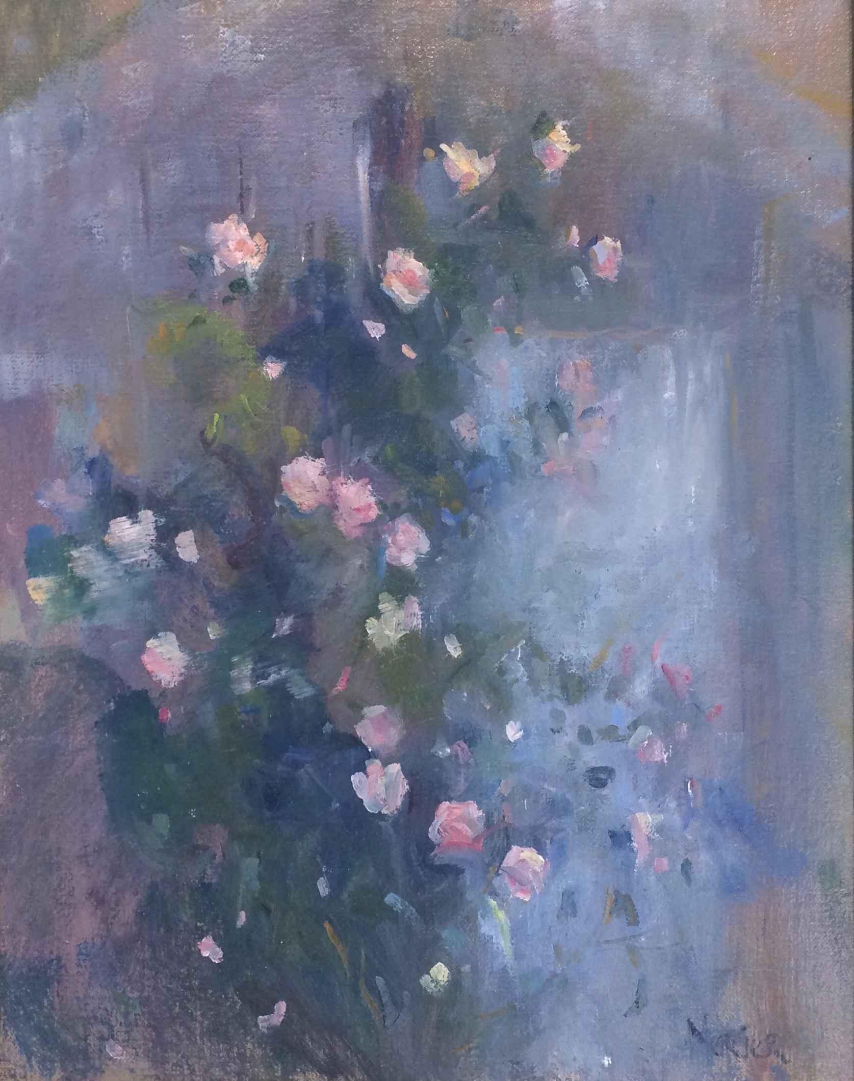 Shed Roses by  Meg Mercier - Masterpiece Online