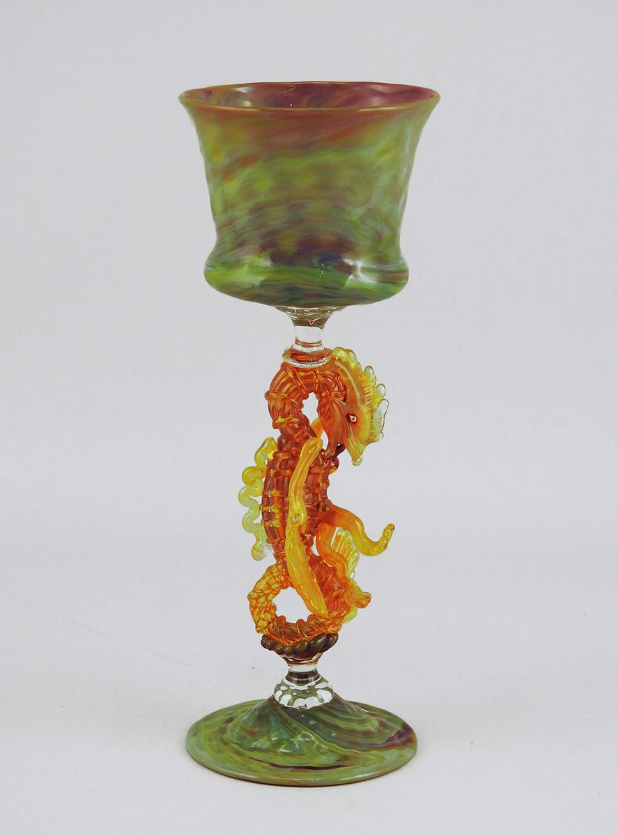Goblet/Chalcedony Dra... by  Brian Kerkvliet - Masterpiece Online