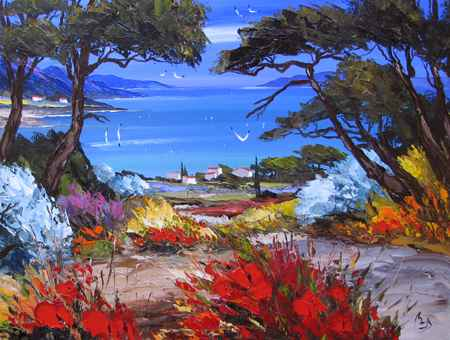 Distant Shores by  Louis  Magre - Masterpiece Online