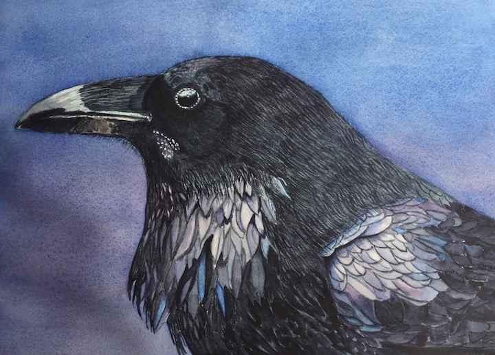 Beautiful in Black by  Carolyn Streed - Masterpiece Online