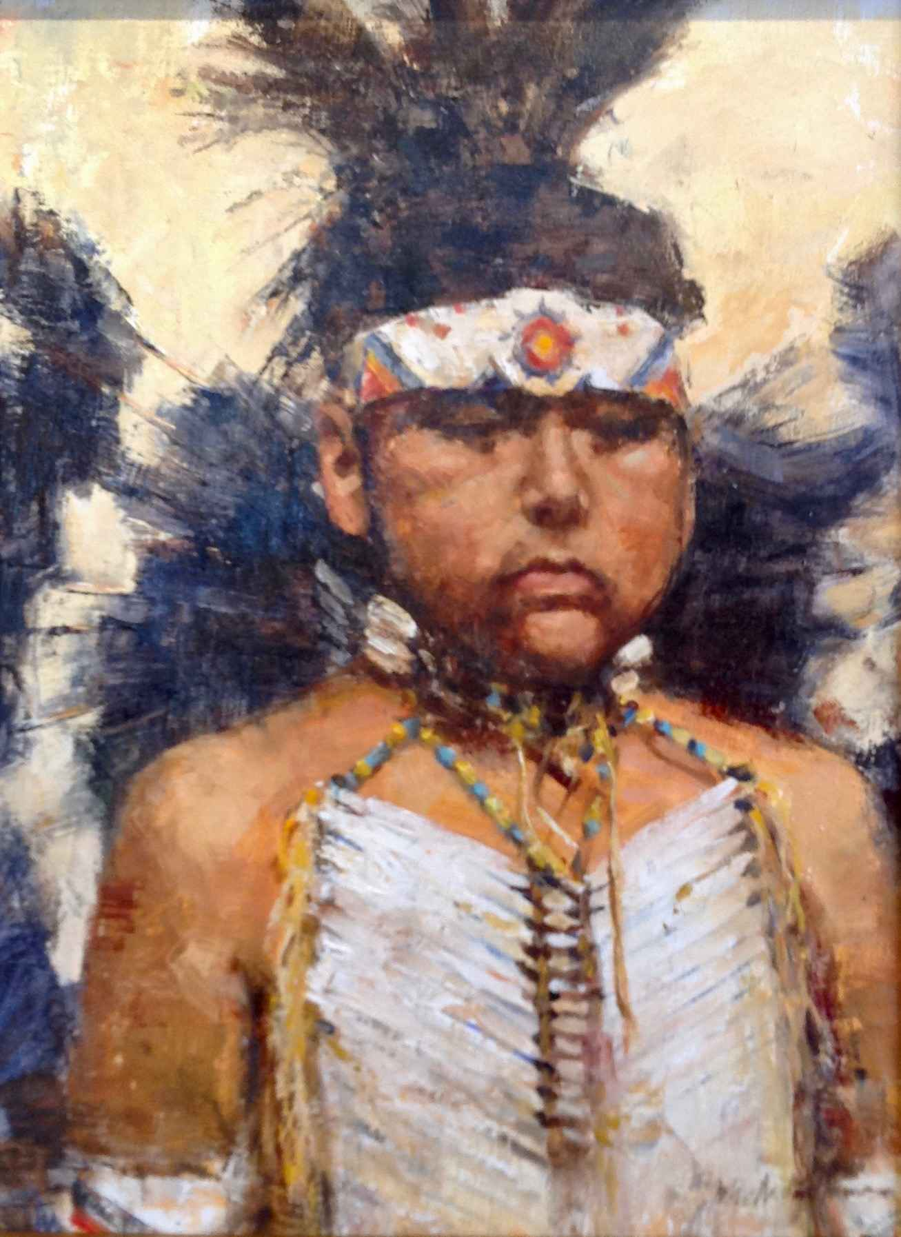 Son of His Fathers by  John Austin Hanna - Masterpiece Online