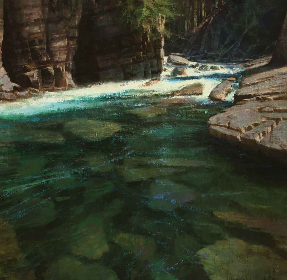 Emerald Waters  by  Brent Cotton