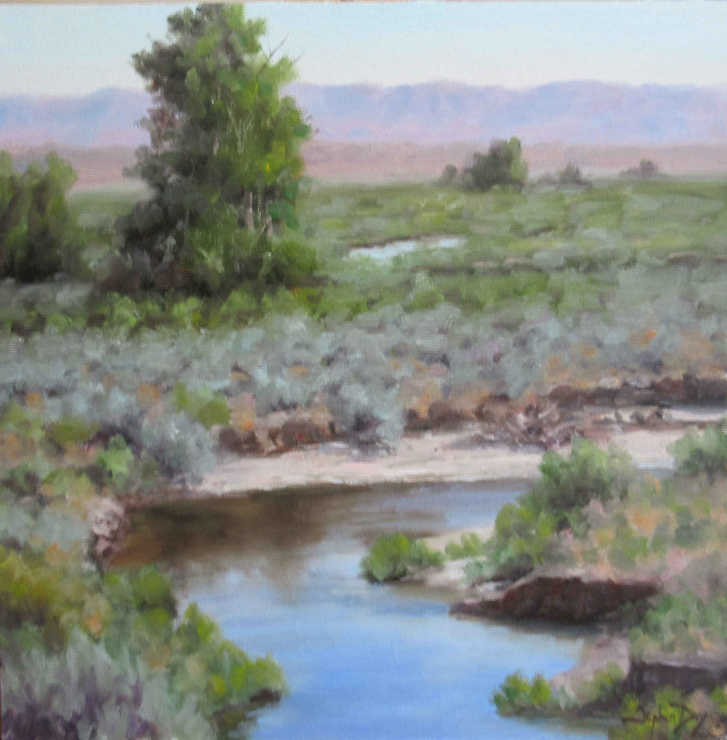 Along Cottonwood Creek by  Stephen Day - Masterpiece Online