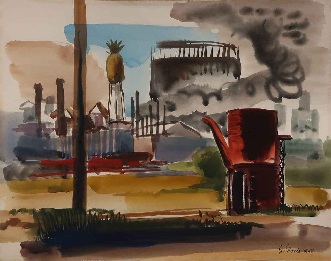 Pineapple Cannery, Ha... by  Robert Benjamin Norris (1910-2006) - Masterpiece Online