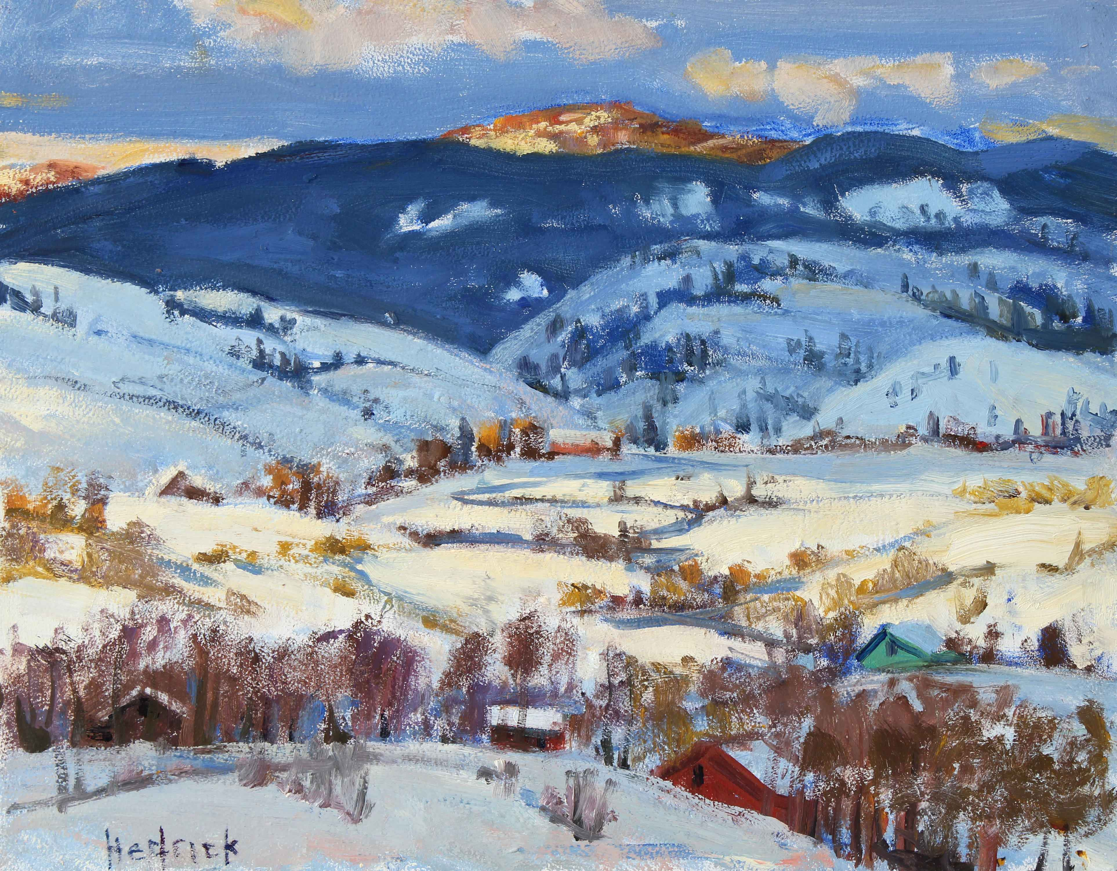 Winter Valley  by  Ron Hedrick