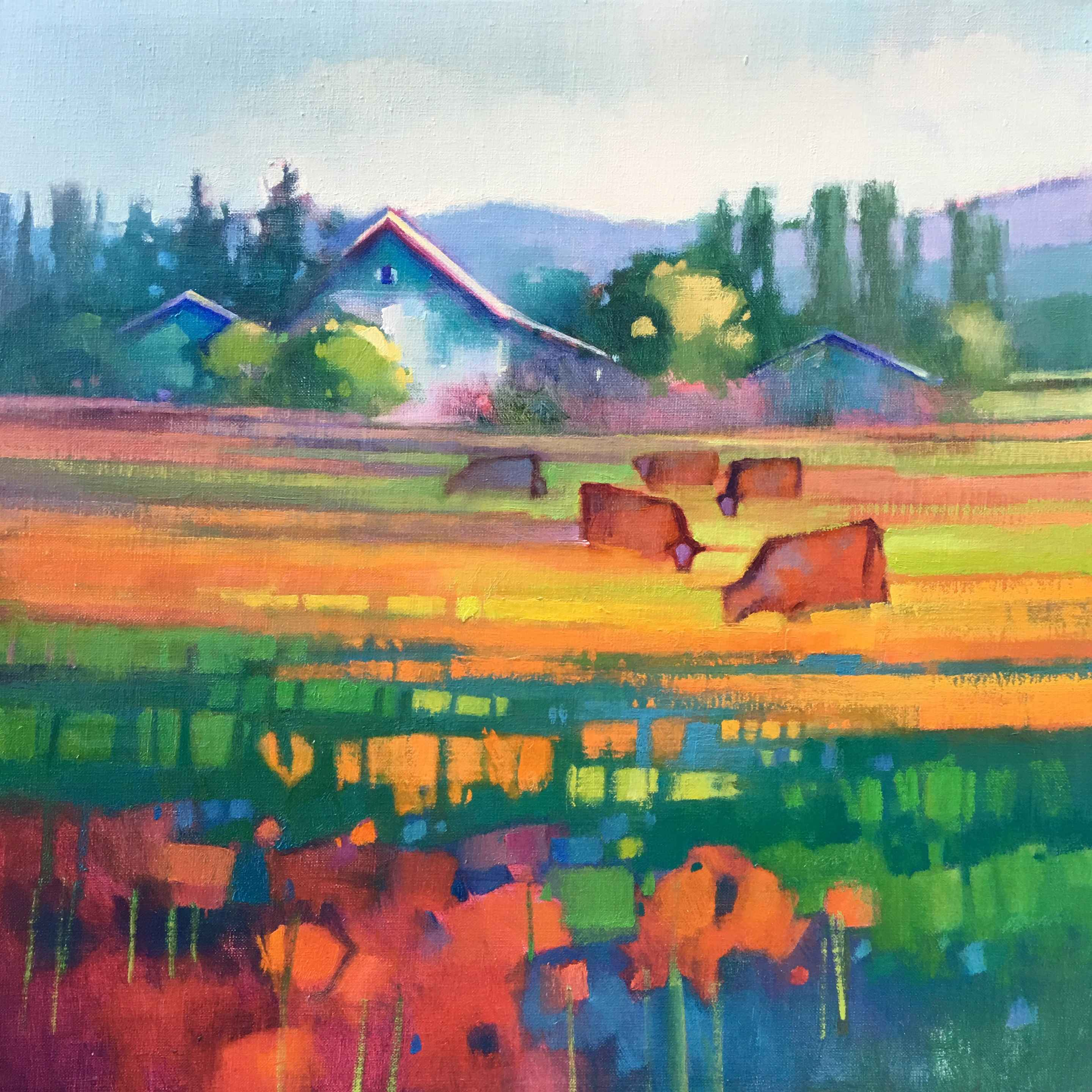Skagit Valley View  by  Kathy Gale