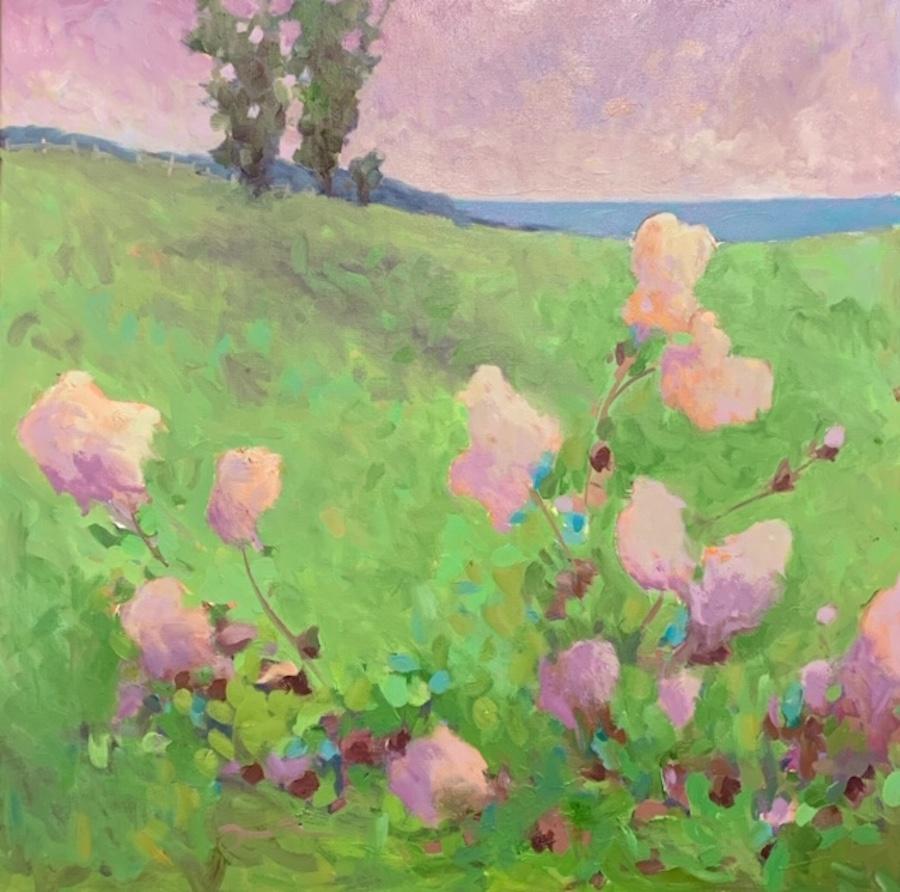 Vineyard Flowers by  Julie Friedman - Masterpiece Online