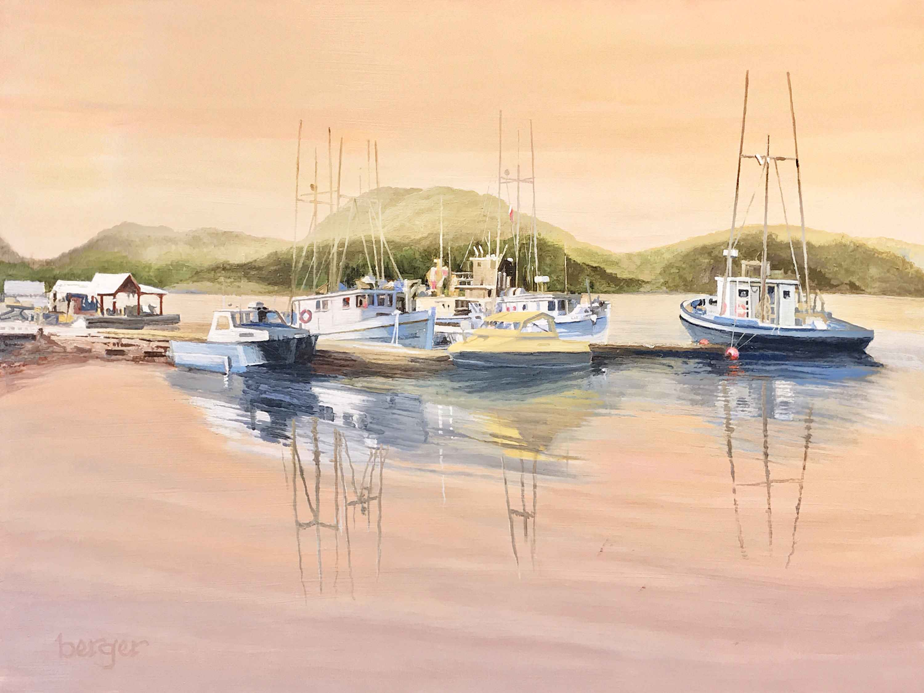 Tofino Sunrise by  Don Berger - Masterpiece Online
