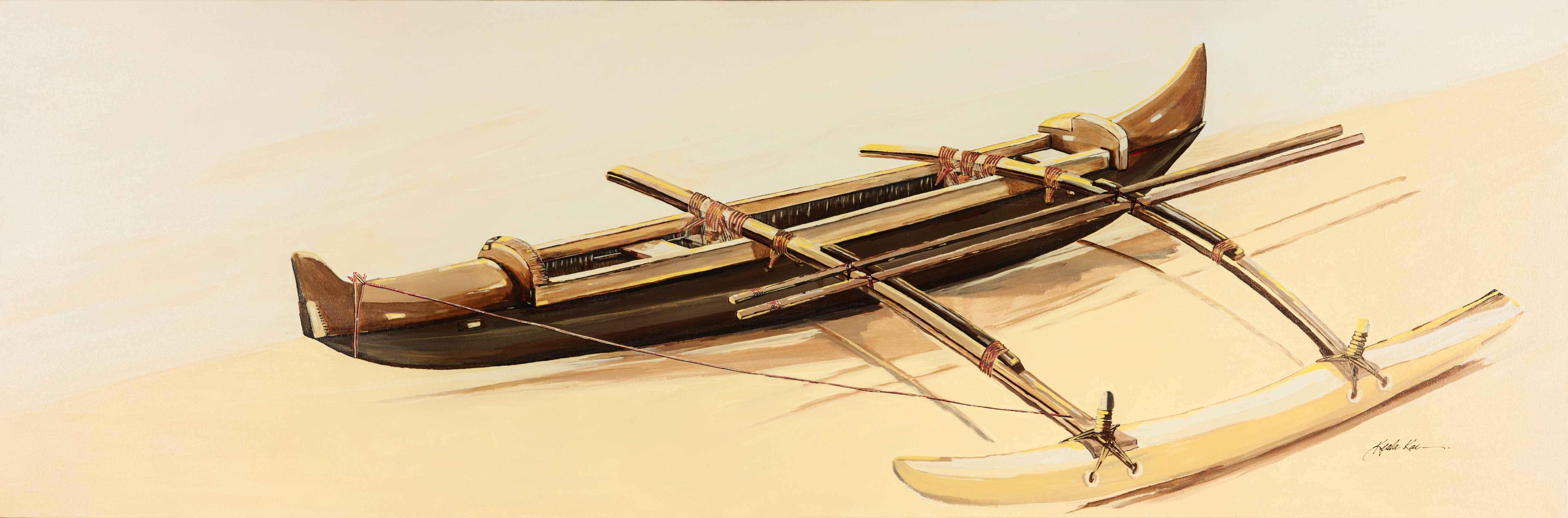 Canoe N Sand by  Keala Kai - Masterpiece Online