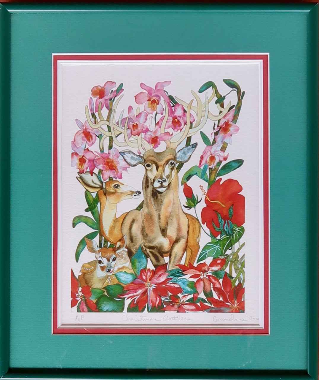 Christmas Antlers (Ar... by  Candance Lee - Masterpiece Online