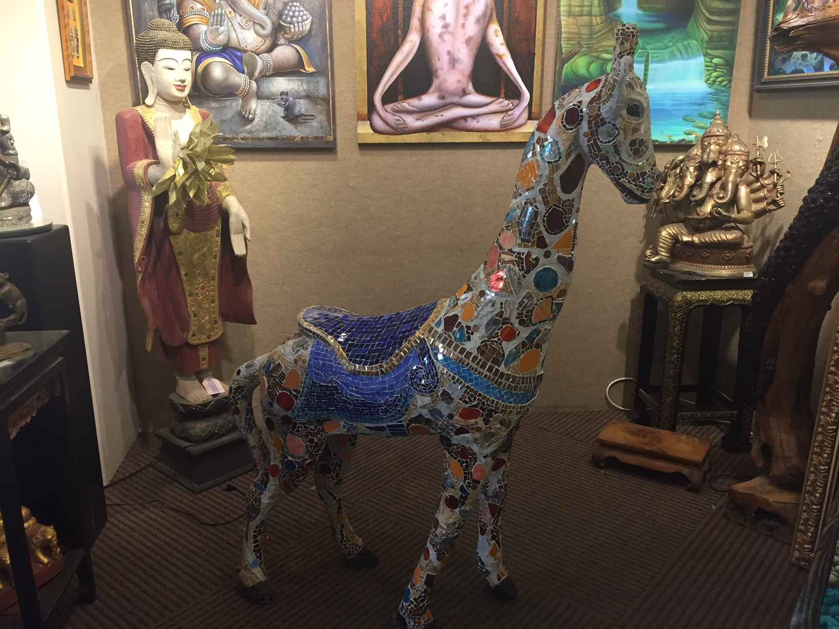 Kiko the Giraffe by  Gala Kraftsow - Masterpiece Online