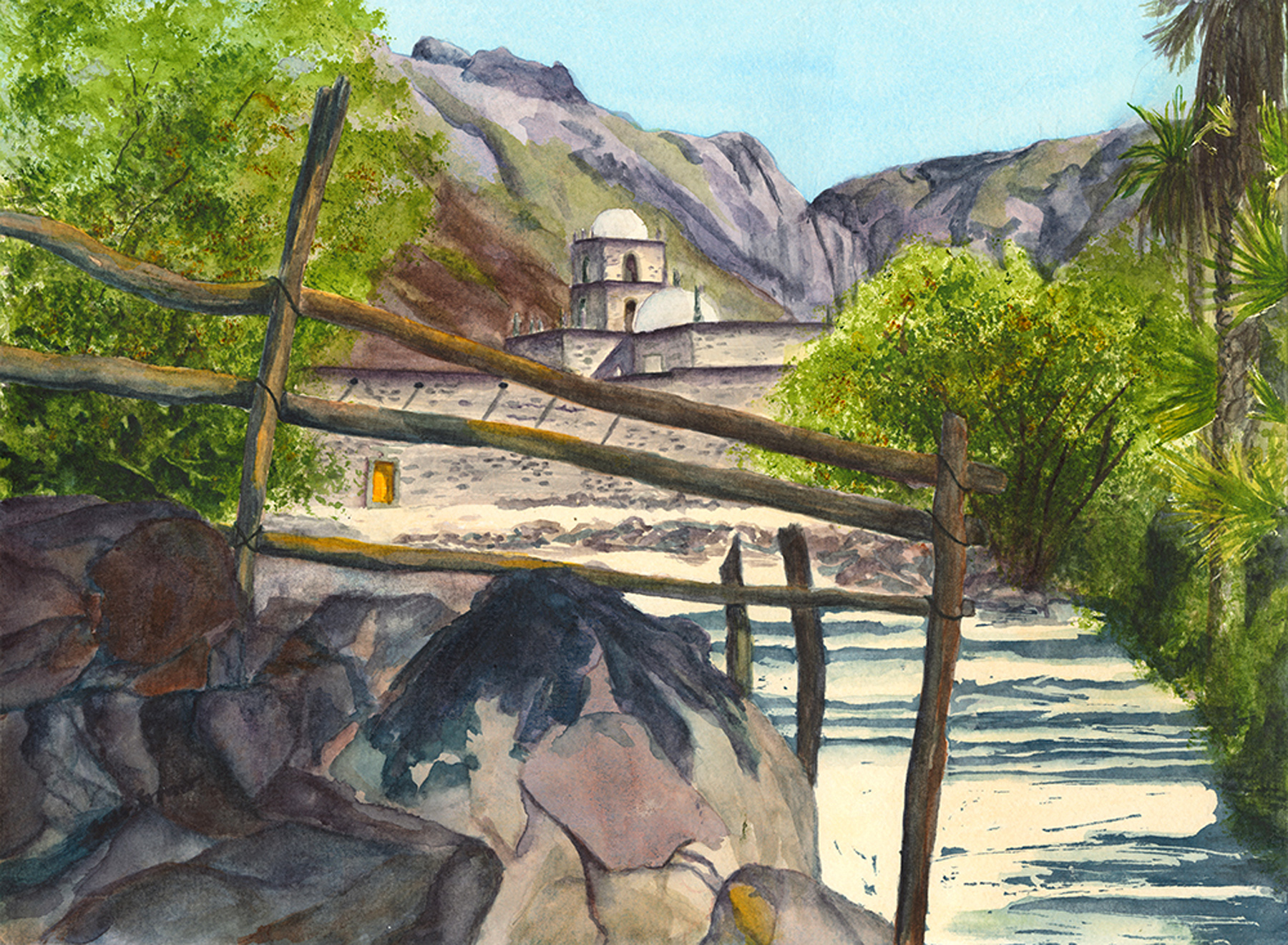 Mission San Fancisco ... by  Sue Emer - Masterpiece Online