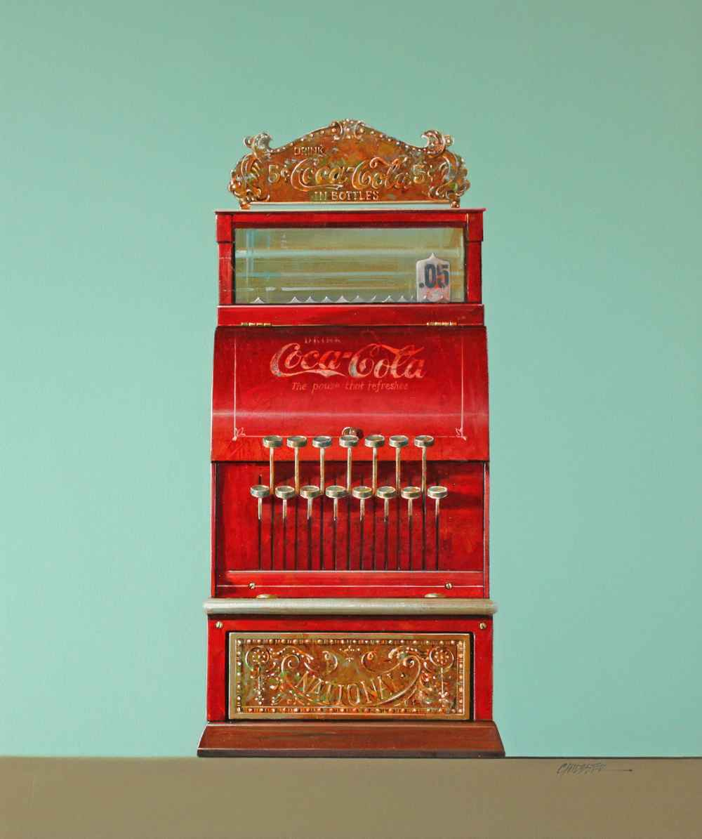 Coca-Cola 5 Cent  by  Wendy Chidester
