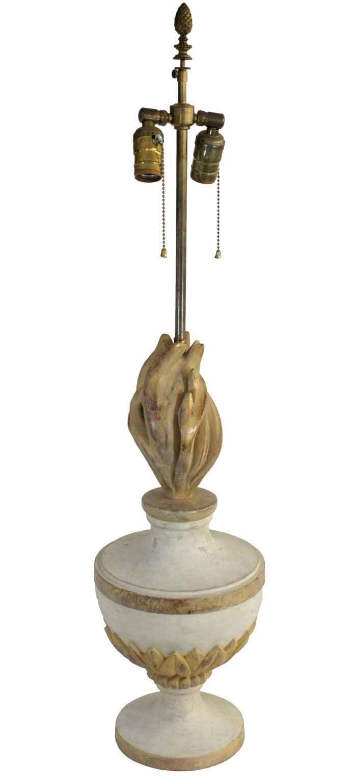 Flaming Urn Finial La... by  Italian  - Masterpiece Online