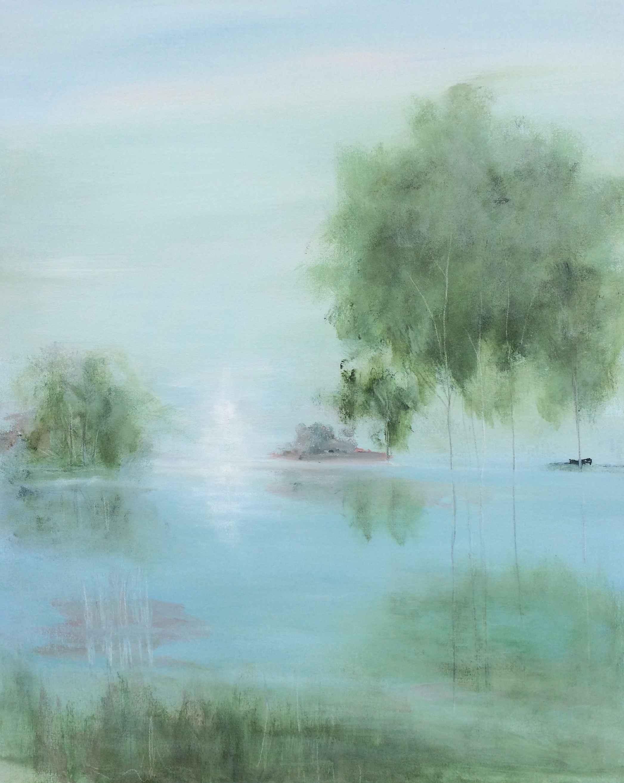 Morning at Cedar Pond by  Steve Lyons - Masterpiece Online