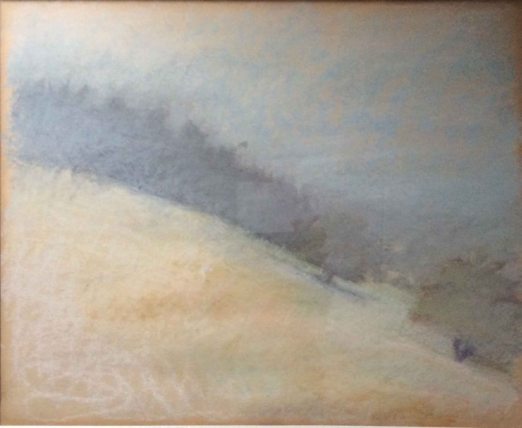 Slope II/ Grey Trees by  Wolf Kahn - Masterpiece Online