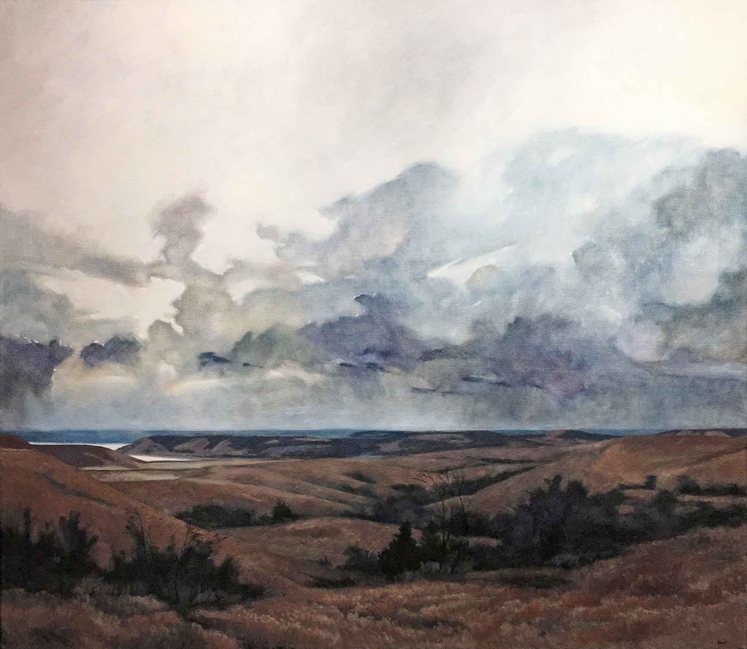 White Sky, Tuttle Cre... by  Barbara Waterman-Peters - Masterpiece Online