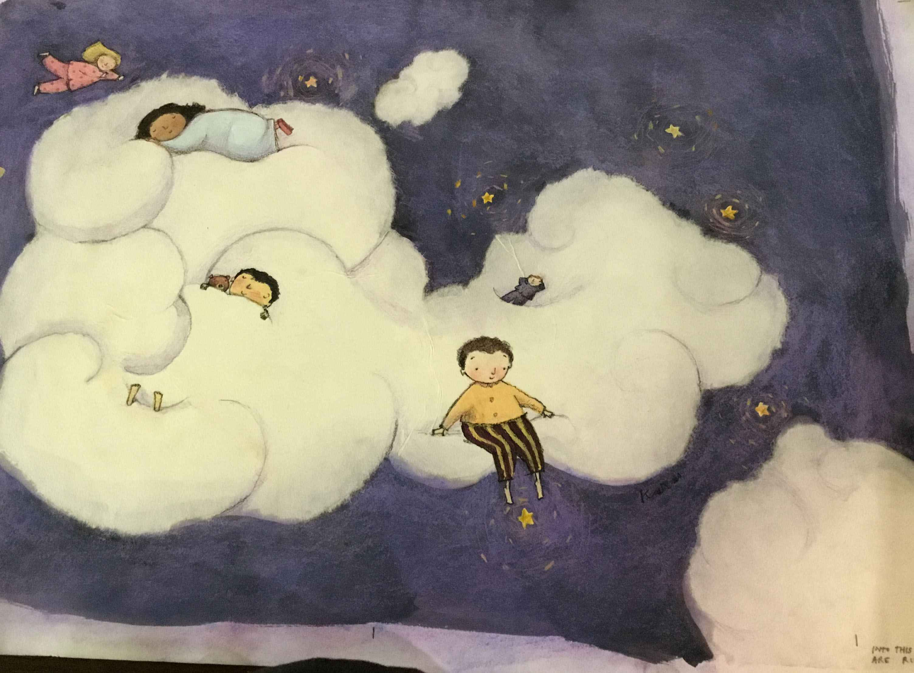 Kids in the Clouds  by  G, Brian Karas