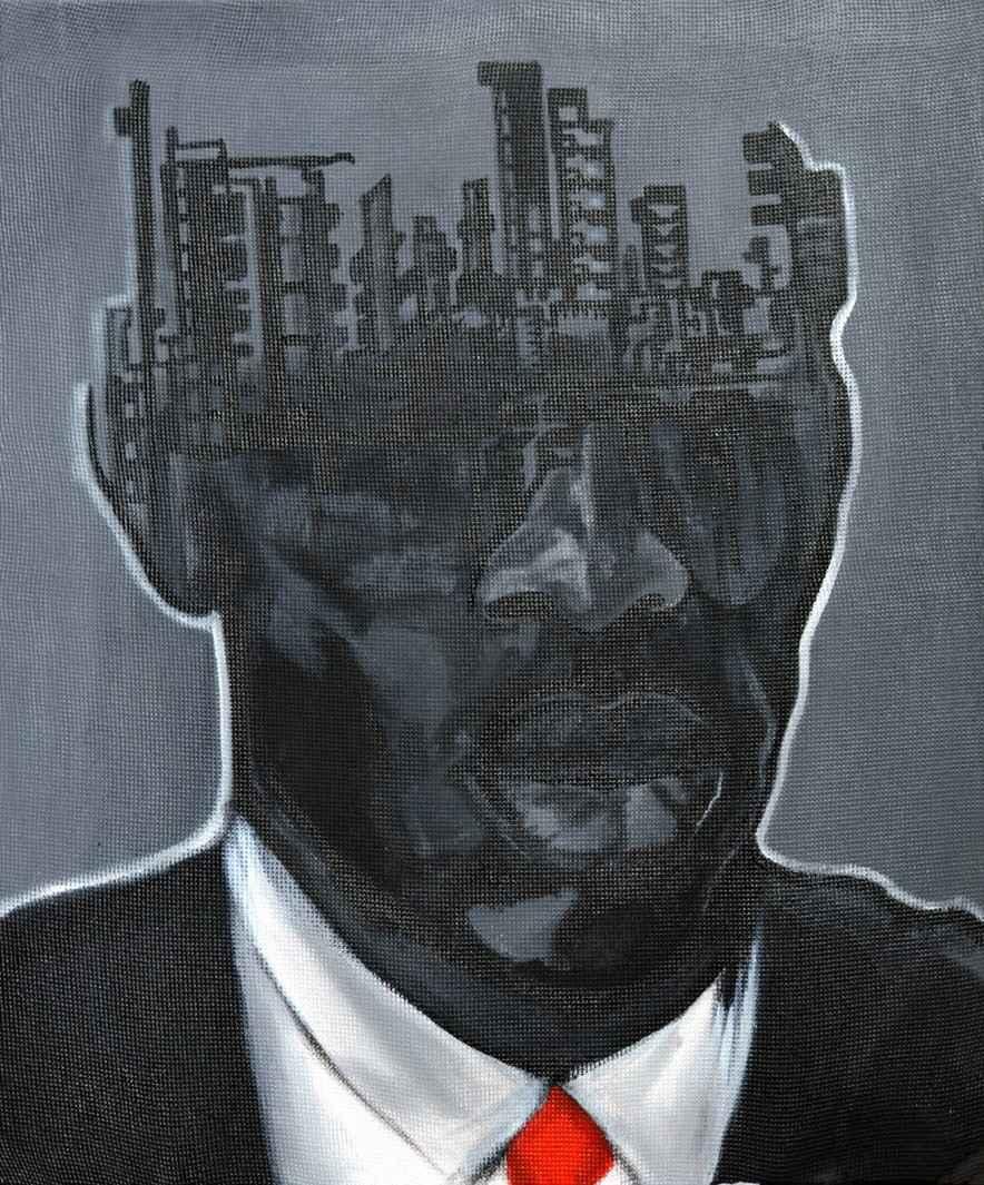 Mind Structure IV by Mr John Madu - Masterpiece Online