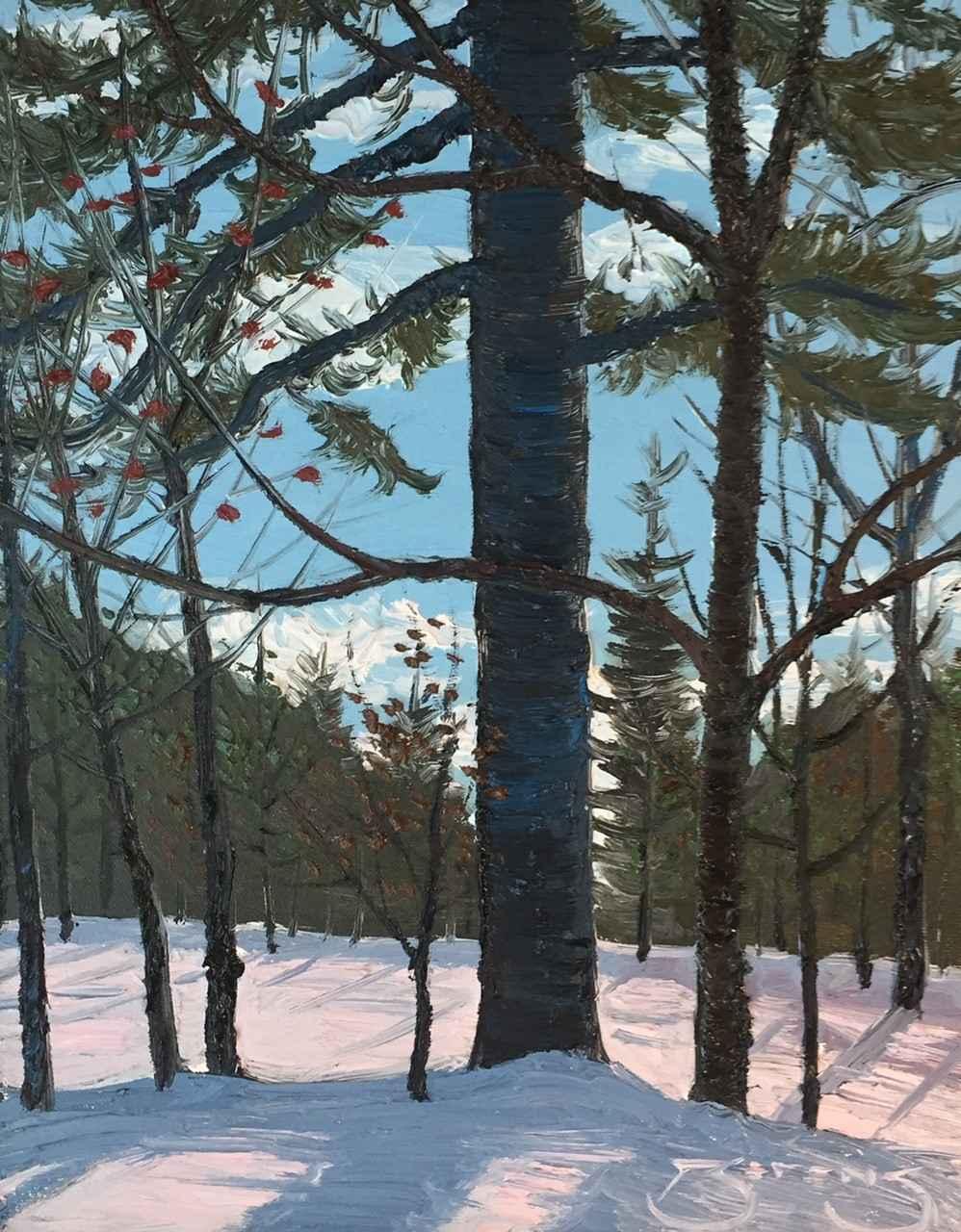 Backyard Sketch #1 by  Mark Berens - Masterpiece Online