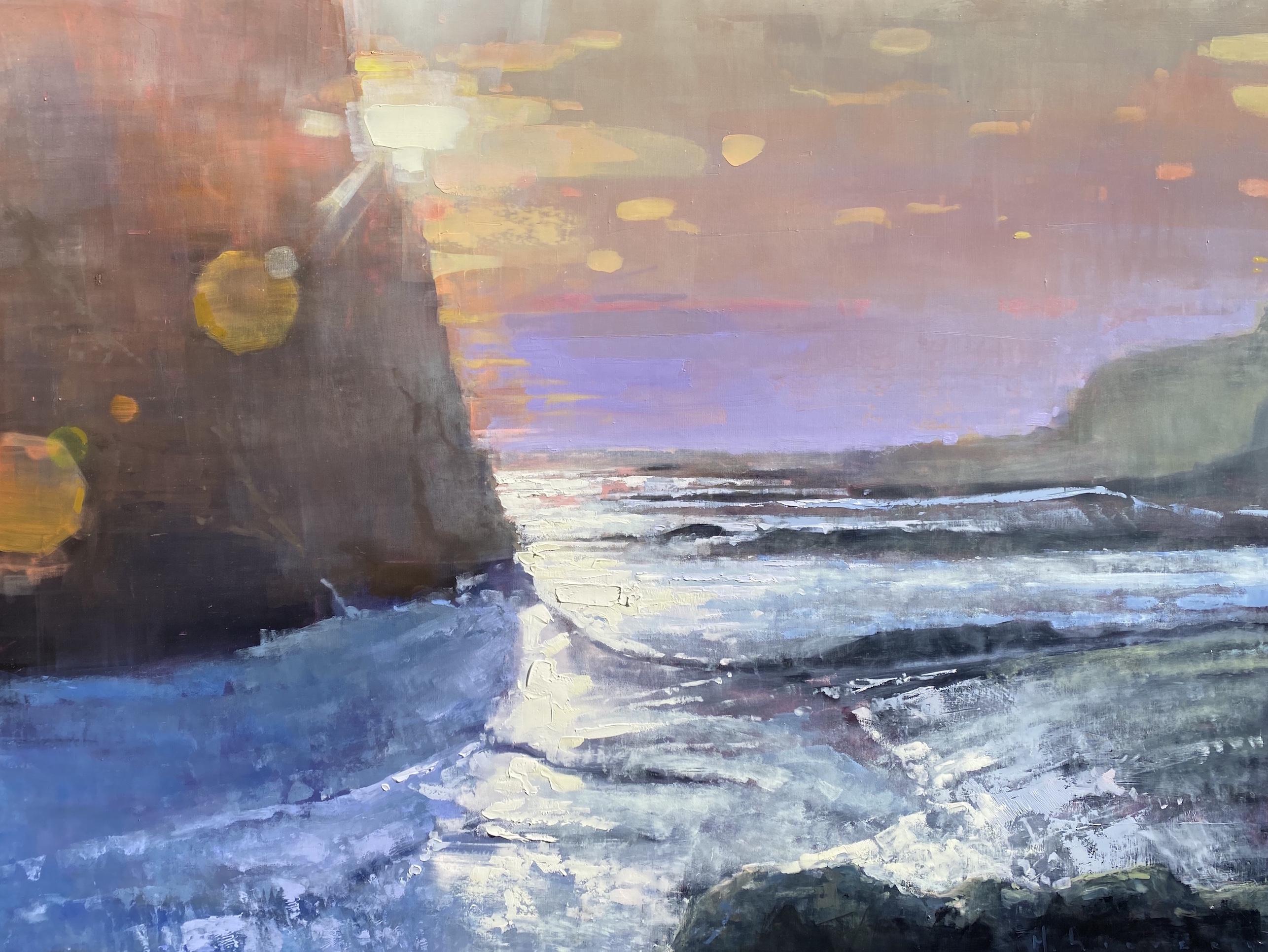 Surf and Sunset by Mr. Matt Sievers - Masterpiece Online