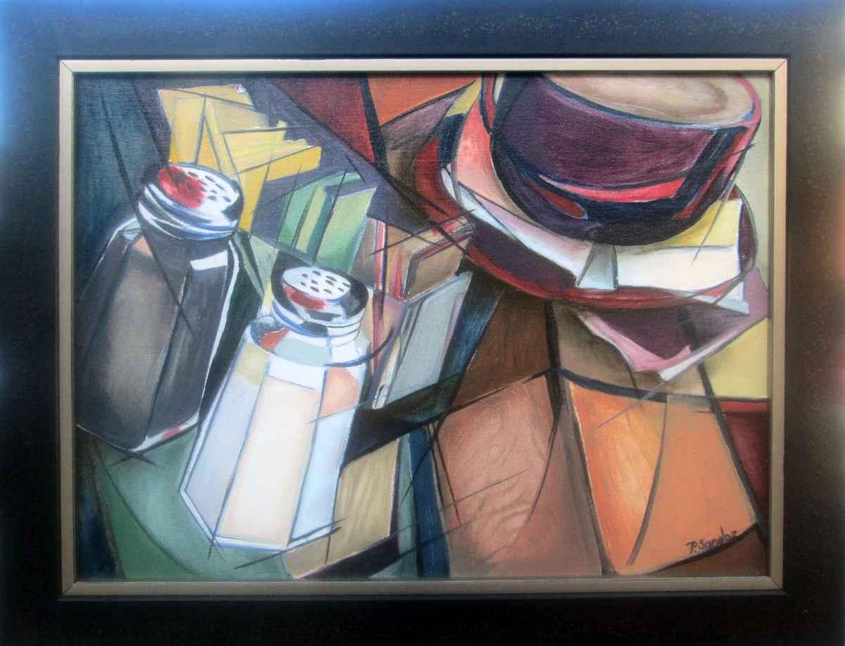 Teahouse by  Priscilla Sandoz - Masterpiece Online