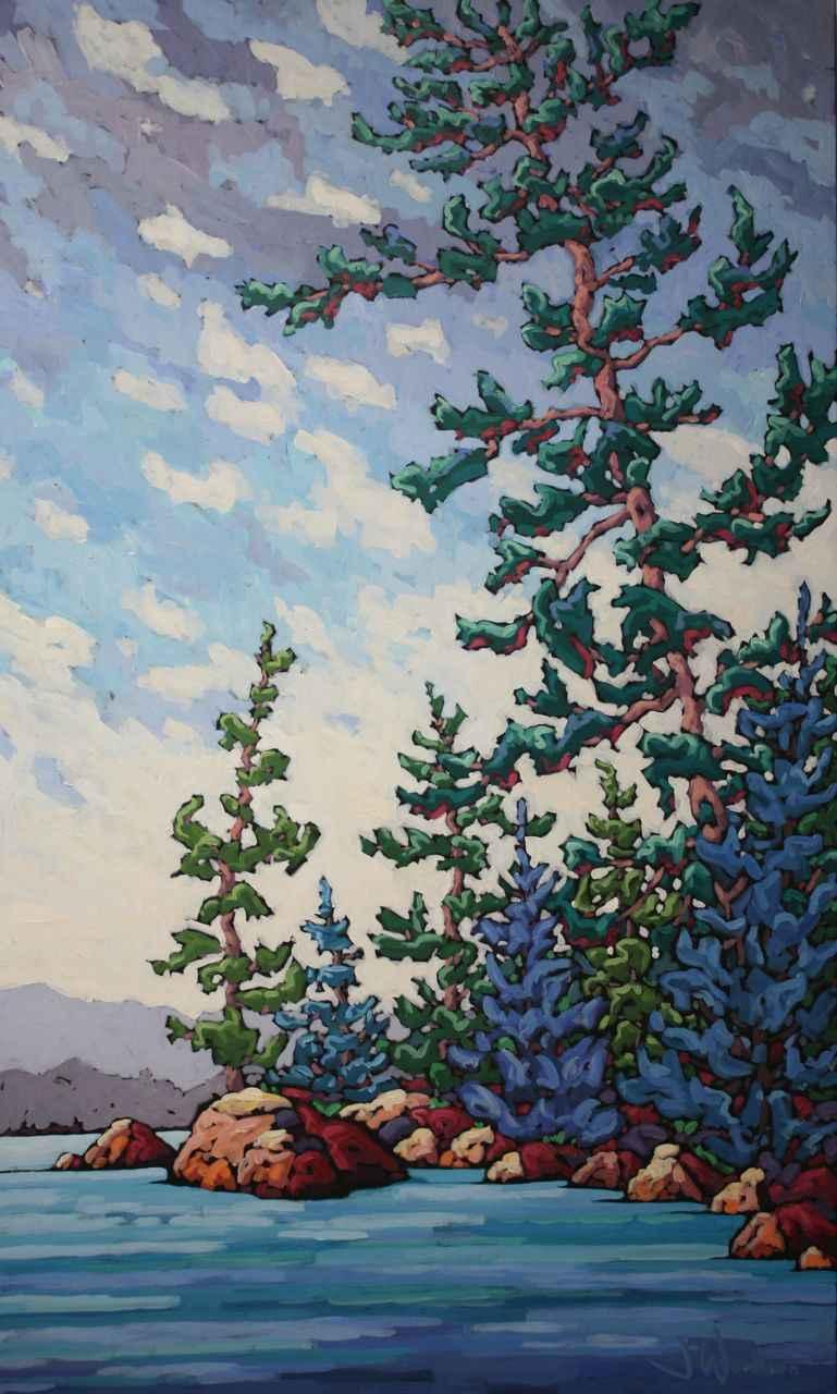 Where Giants Stretch by Ms Jennifer Woodburn - Masterpiece Online