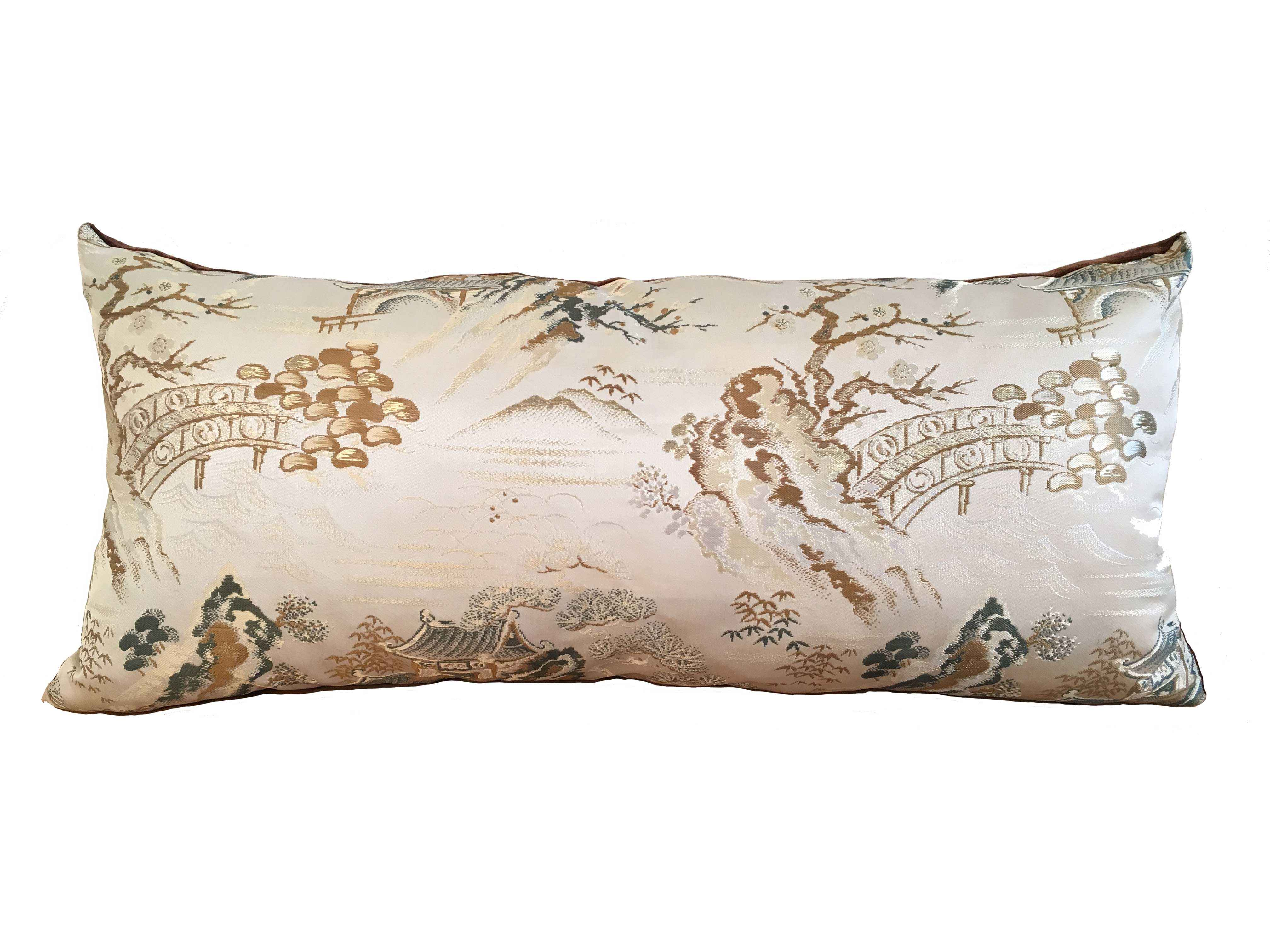 JAPANESE OBI PILLOW by    - Masterpiece Online