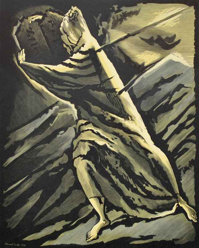 Moses (1956)  by  Bernard Brussel-Smith (1914-1989)