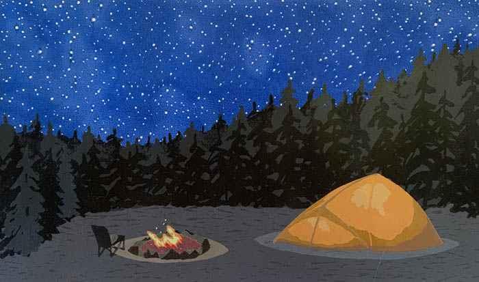 Under The Stars by  Kathy Bonnema Leslie - Masterpiece Online