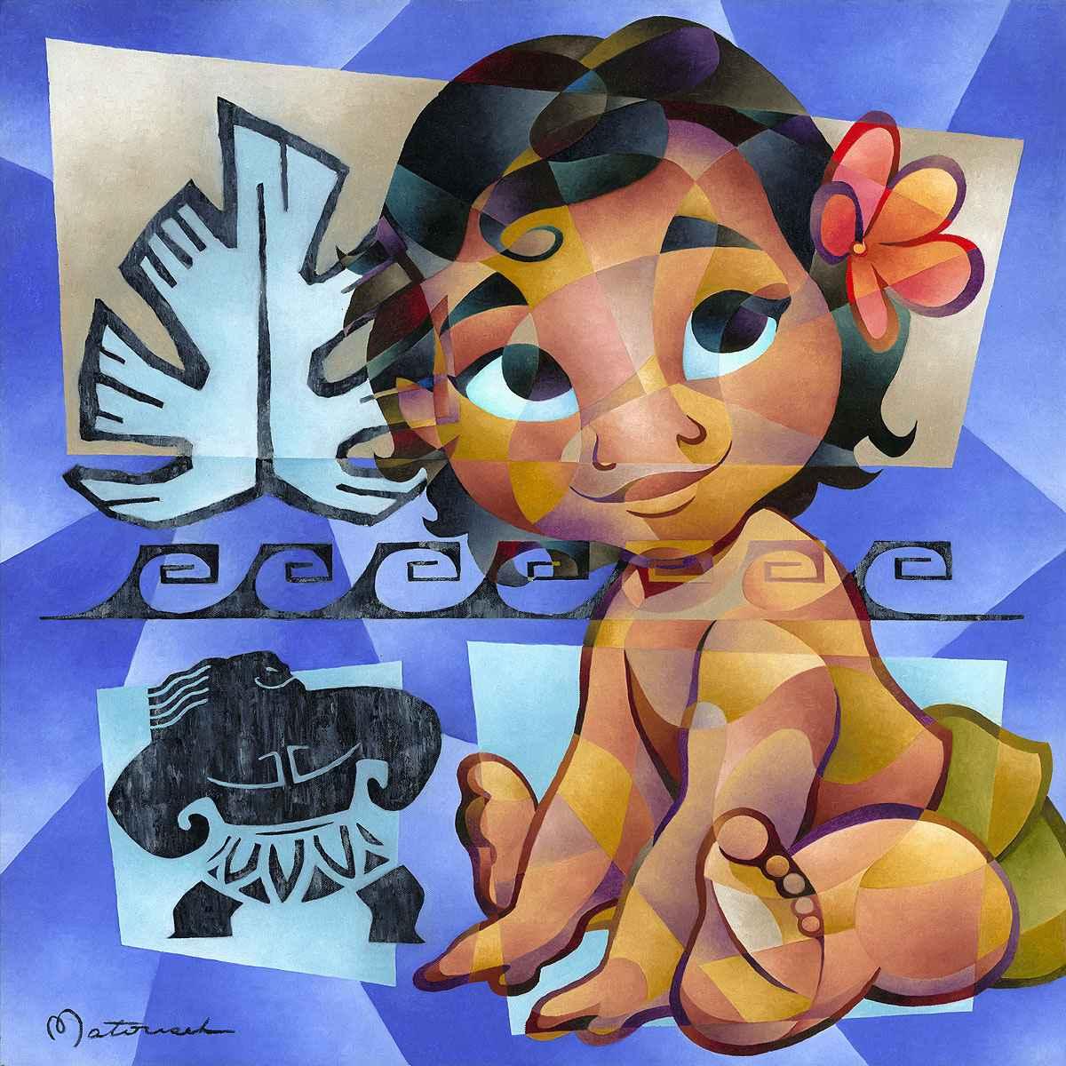 Little Island Girl by  Tom Matousek - Masterpiece Online