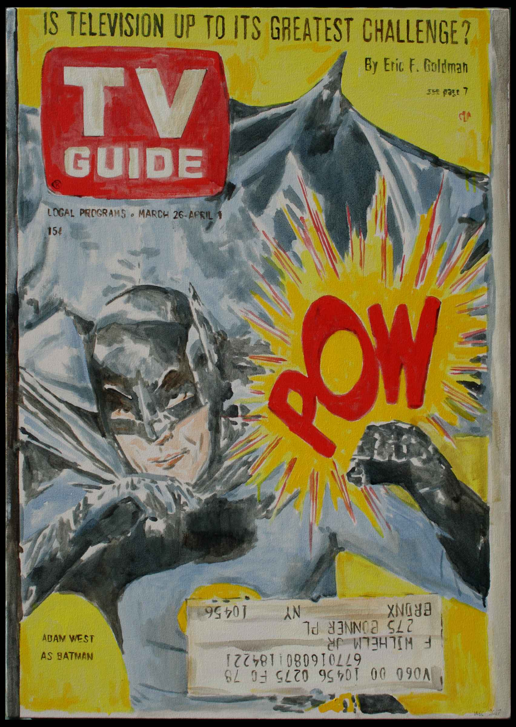 T.V. Guide: Batman by  William Counter - Masterpiece Online
