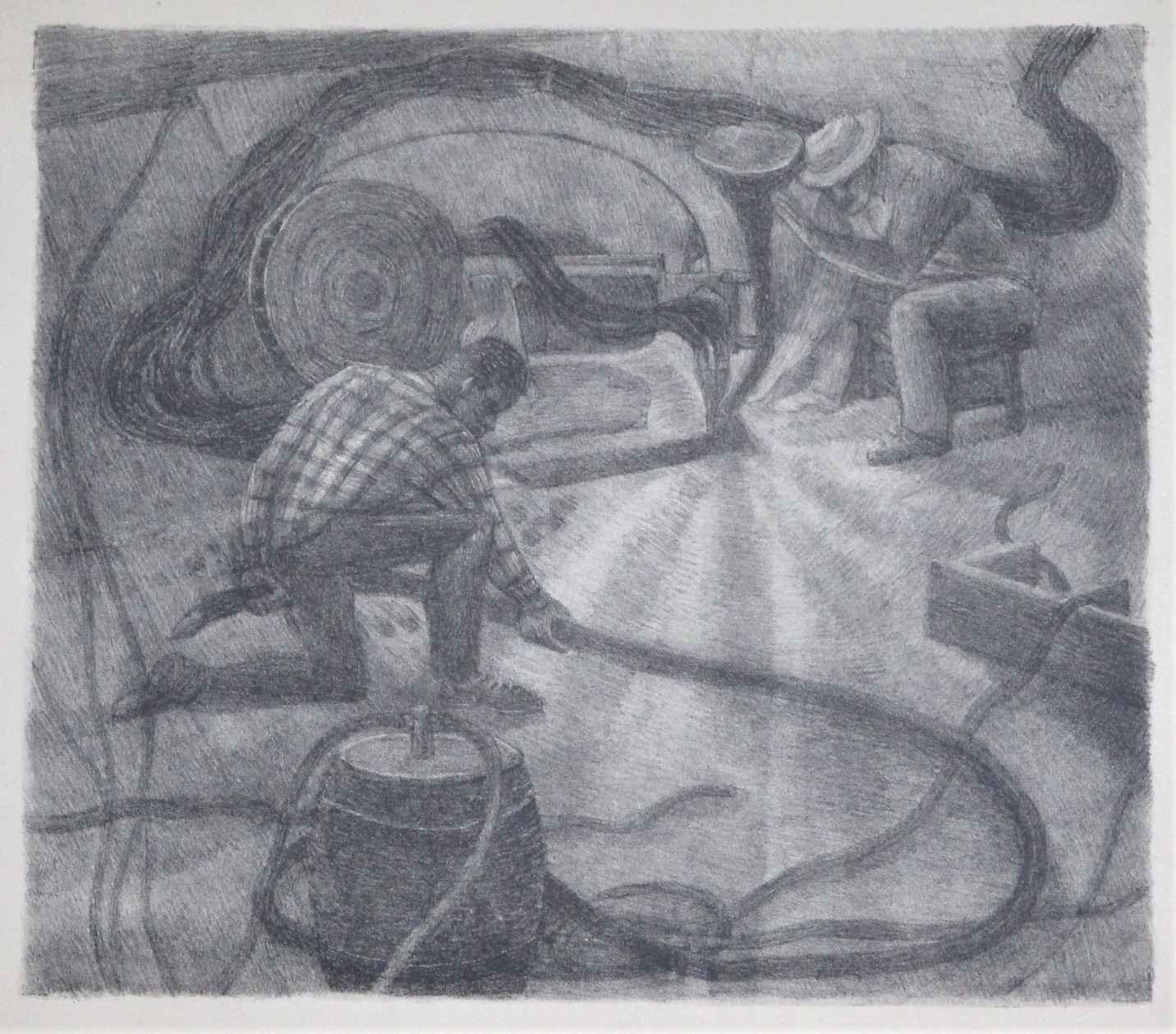 Unknown (Workers +hos... by  Arthur Runquist - Masterpiece Online
