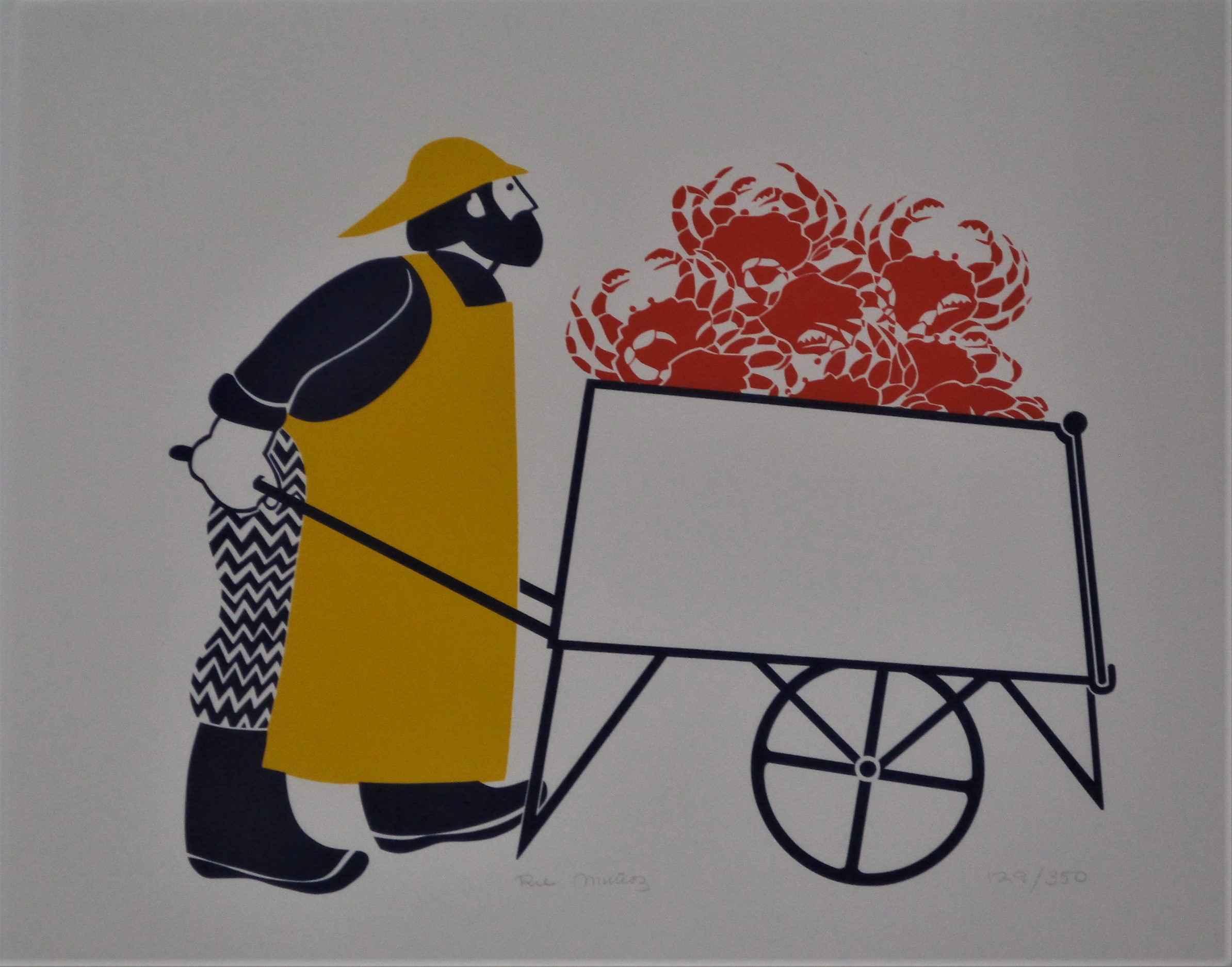 Unknown (Crab Pusher) by  Rie Munoz - Masterpiece Online