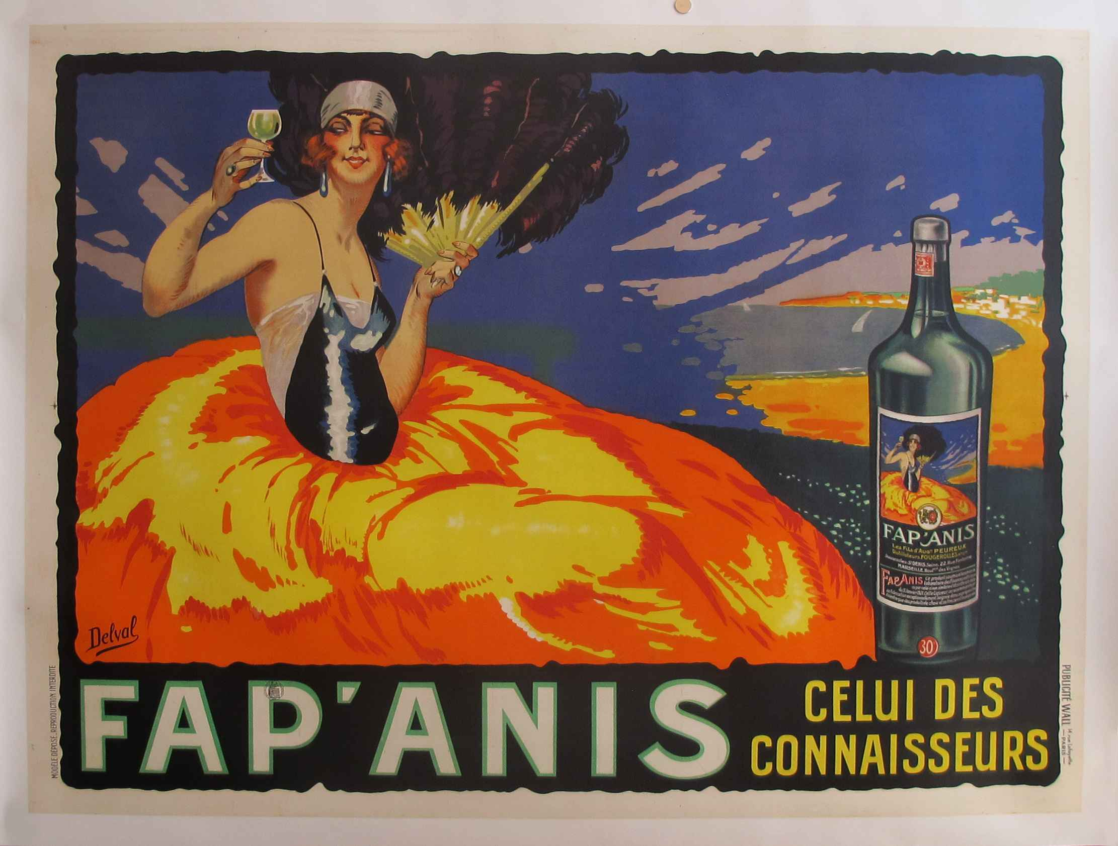 KBE - 1935 Fap'Anis A... by   Delval - Masterpiece Online