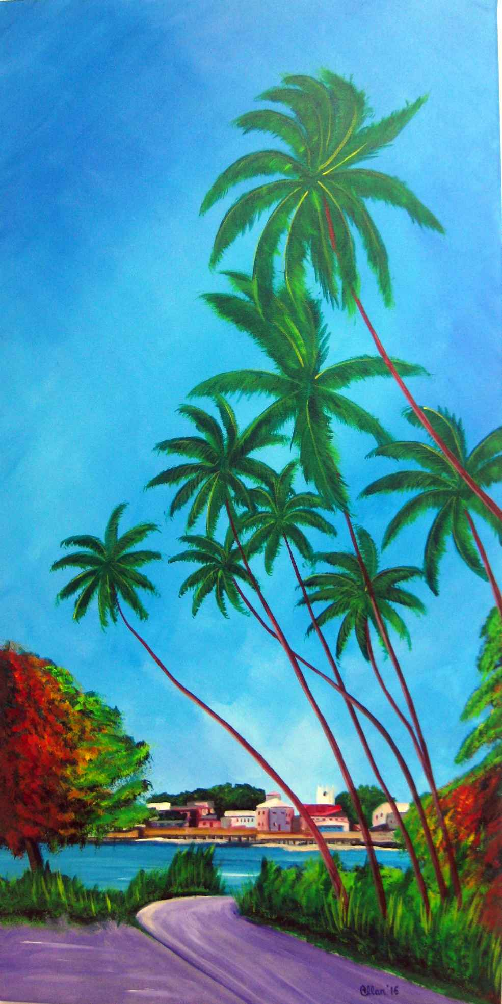 Speightstown Over The... by Mr. Allan Ashby - Masterpiece Online