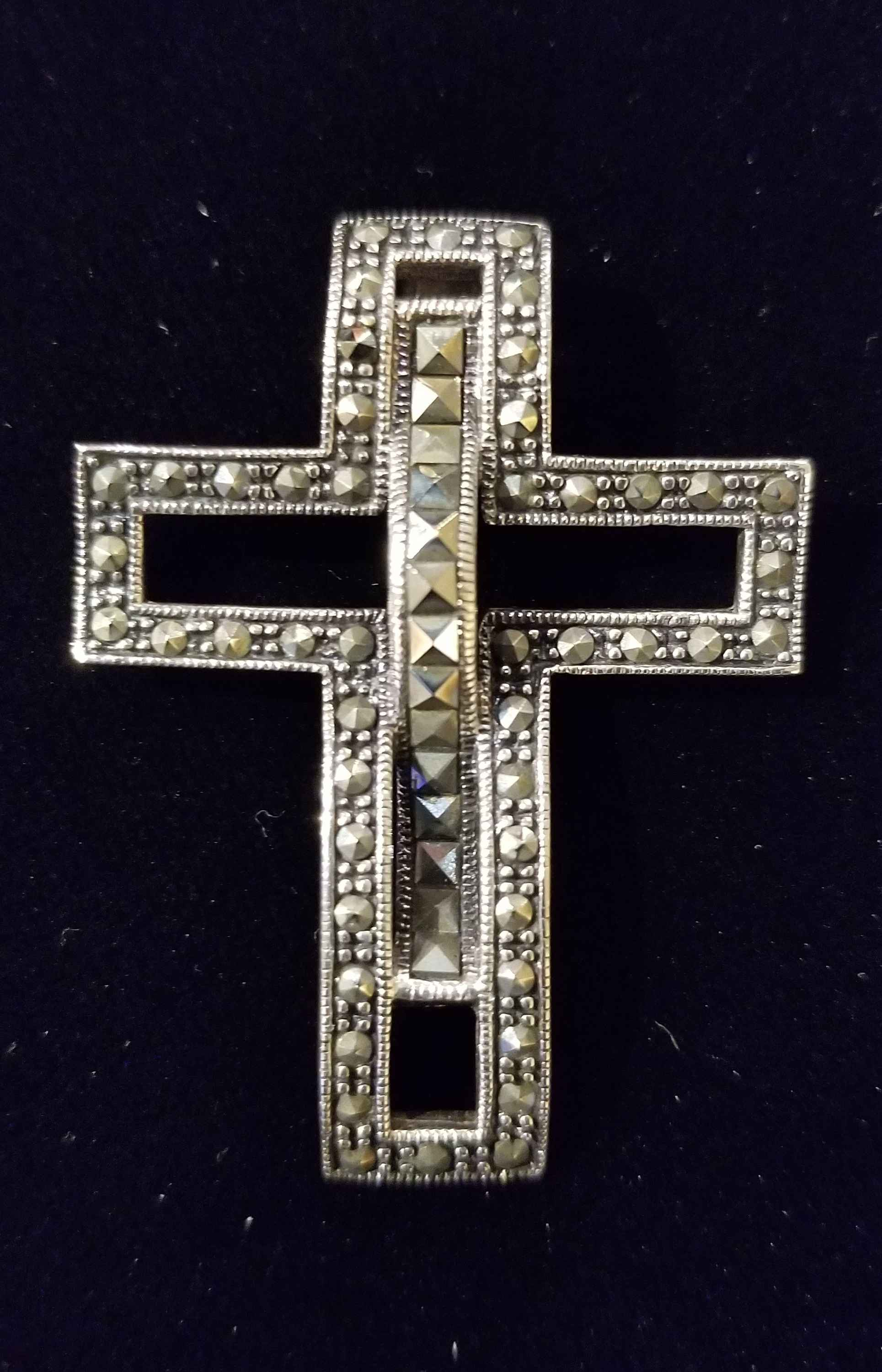 Pendant - Cross w/ He... by  Gallery Pieces - Masterpiece Online