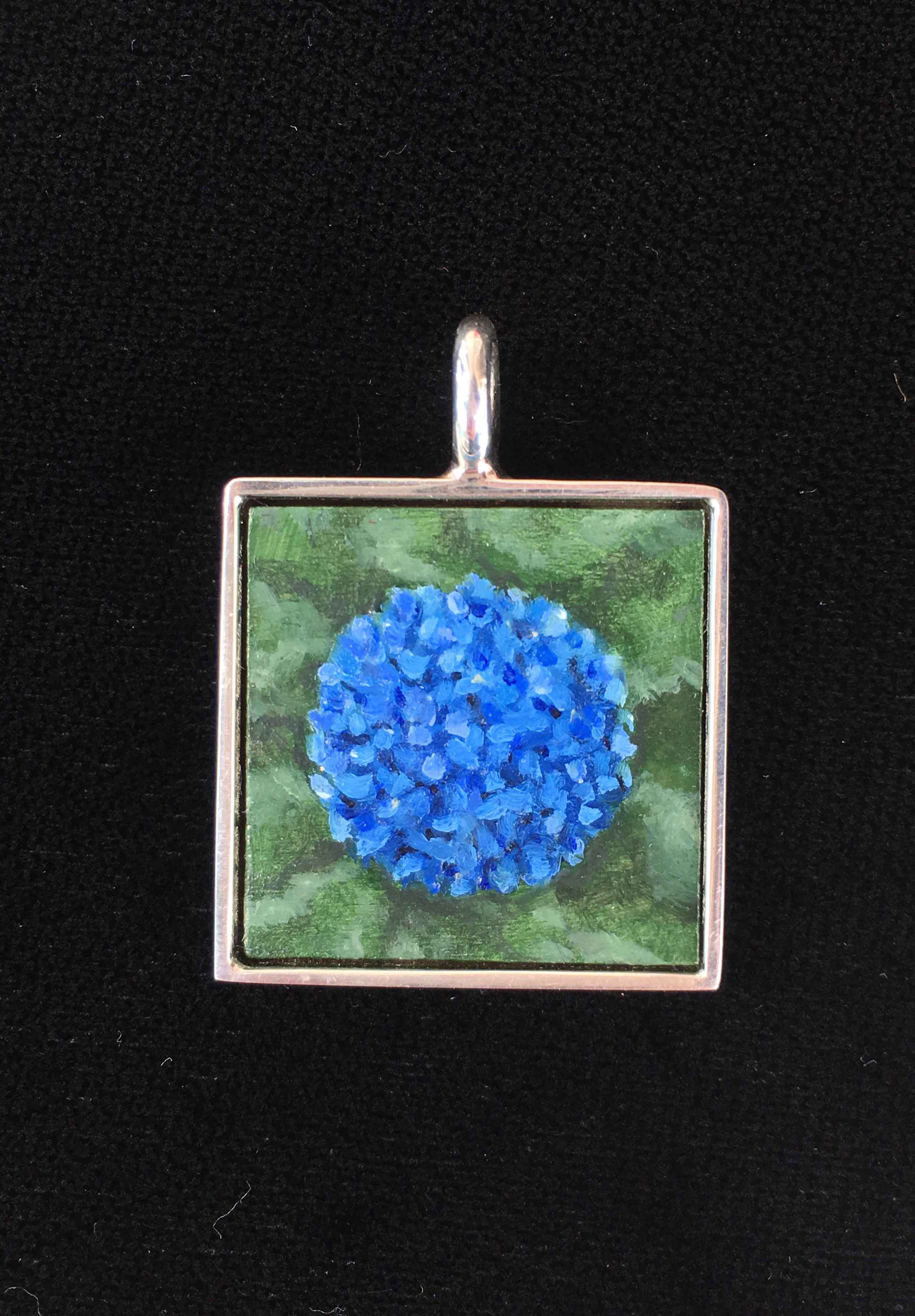 #227 Small Square- Bl... by  Nell Mercier - Masterpiece Online