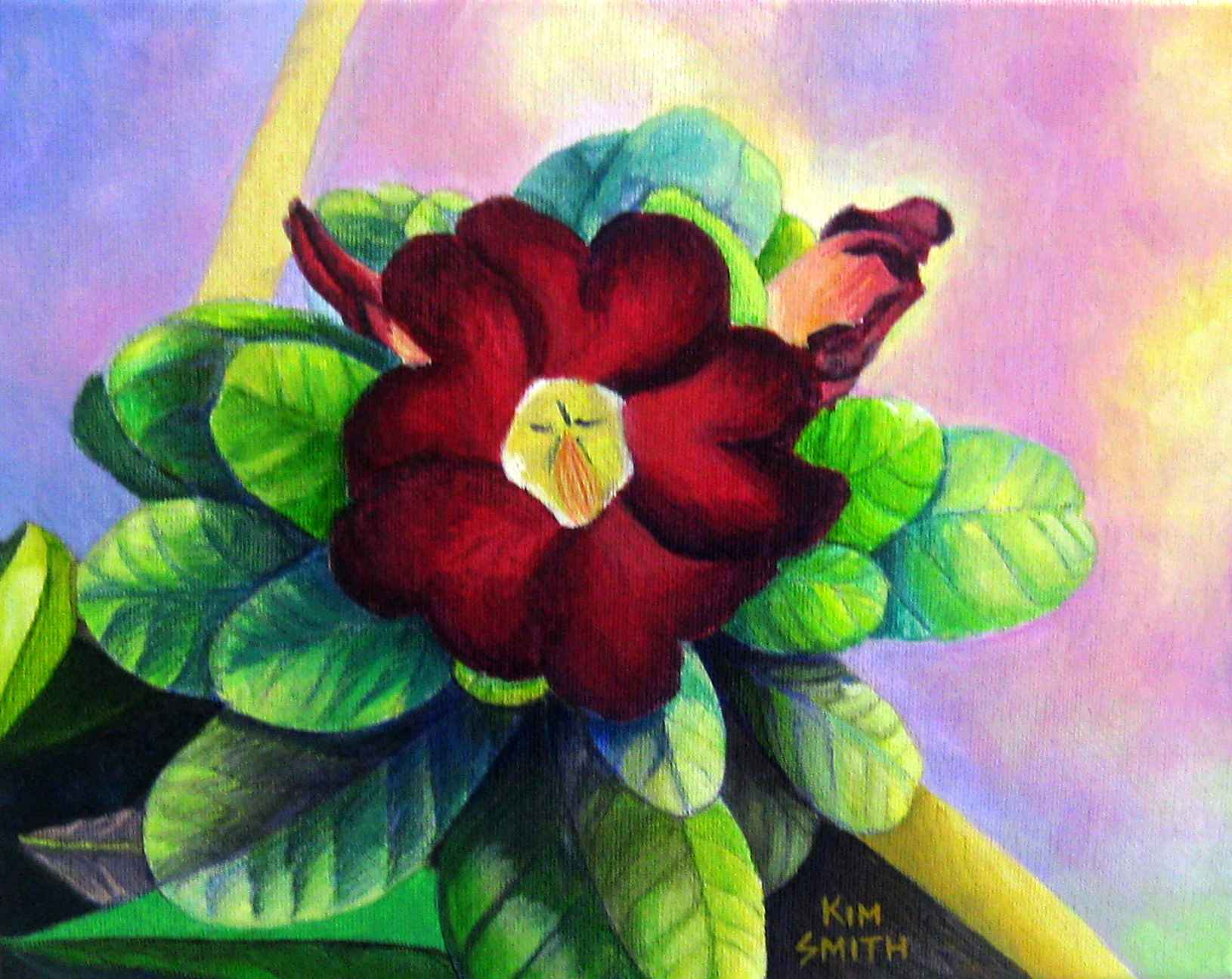 Happy Red by Ms. Kim Smith - Masterpiece Online