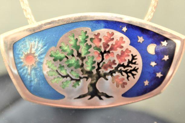 Four Seasons Tree Pen... by  Kristin Anderson - Masterpiece Online