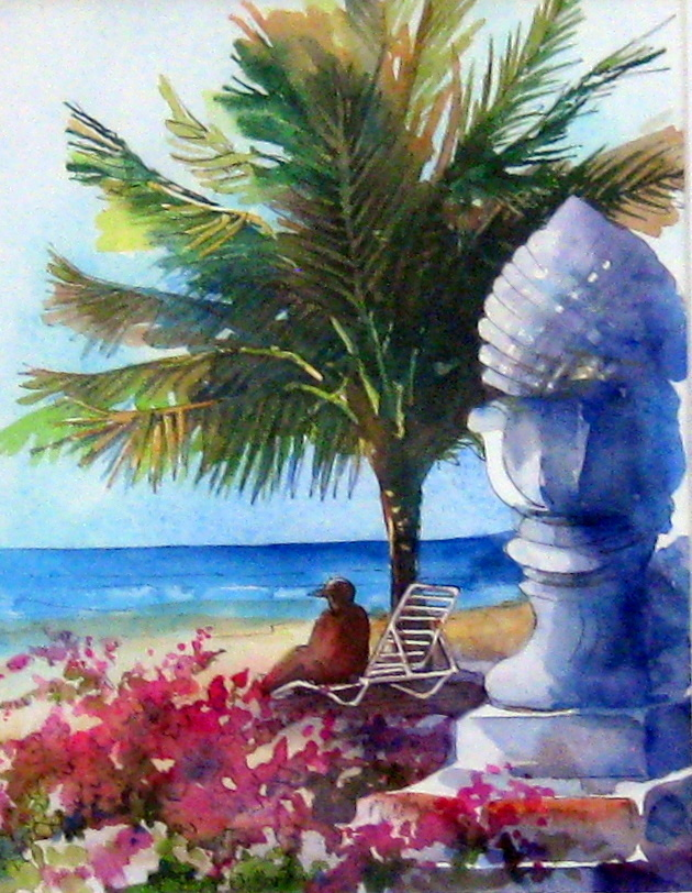 Southern Palms by Ms. Margaret Rodriguez - Masterpiece Online
