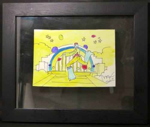 Cosmic Jumper by  Peter Max - Masterpiece Online