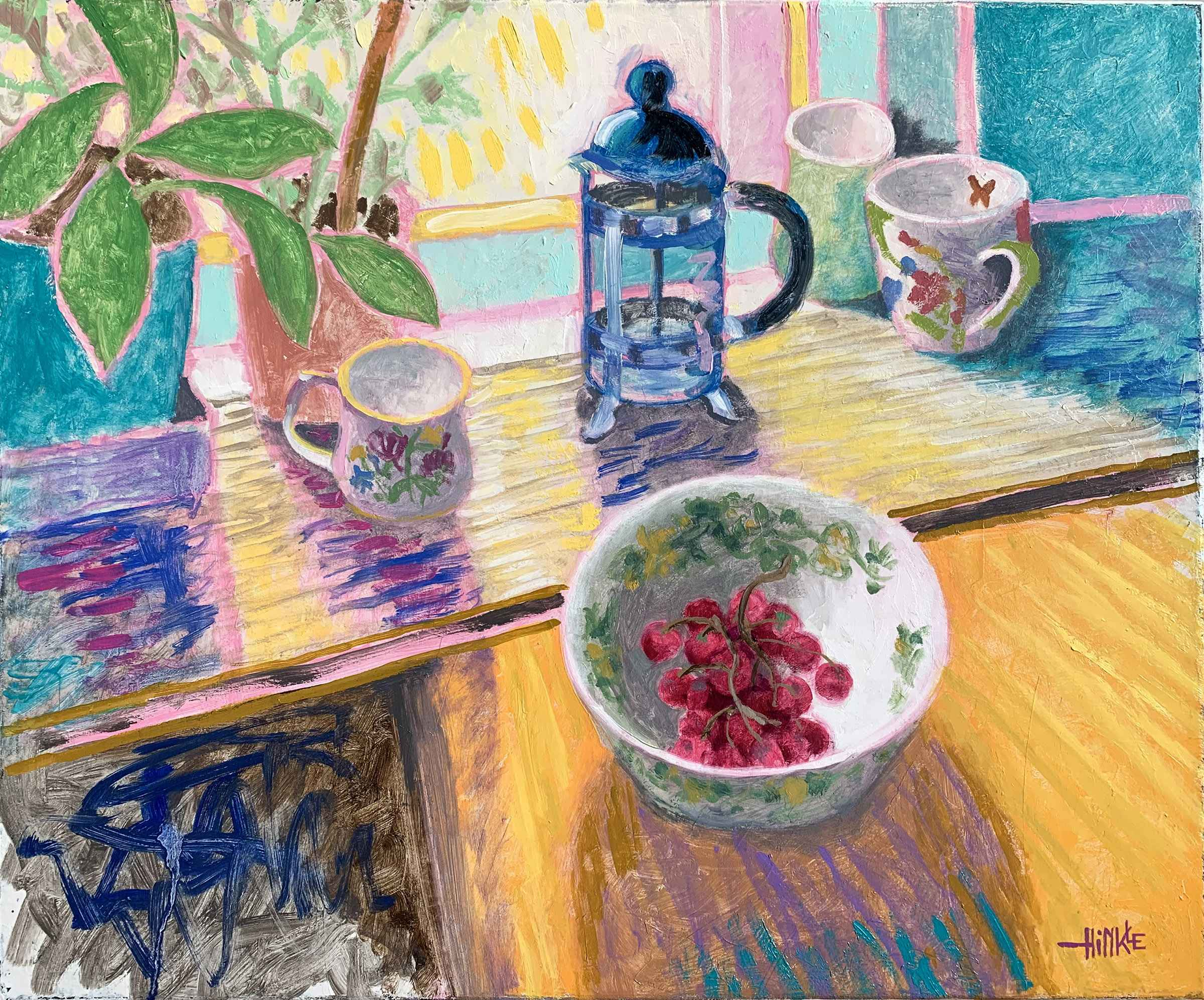 French Press, Bowl of... by  Brian Hinkle - Masterpiece Online