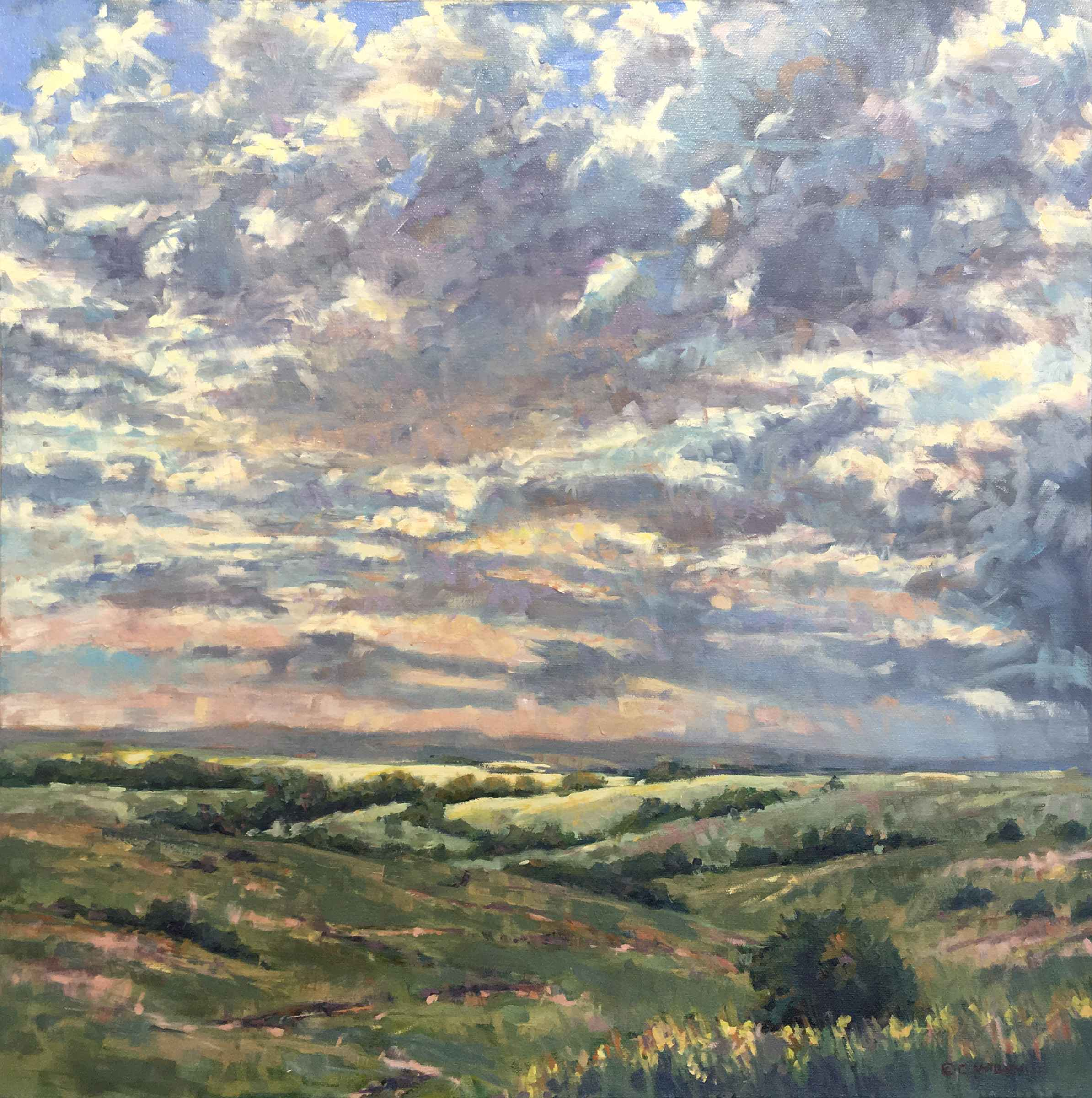 Summer Light Patch by  Chris Willey - Masterpiece Online