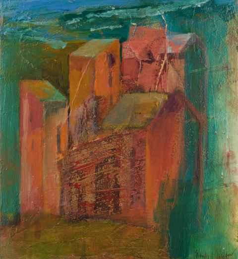 Tuscan Skyline by  Wendy Weldon - Masterpiece Online