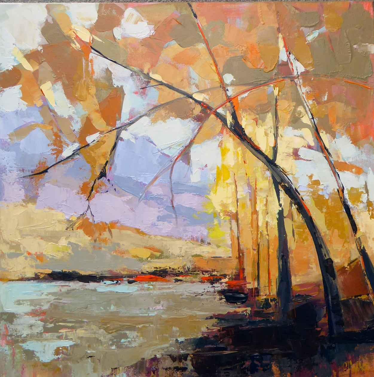 Aspen Lake  by  Cheryl Waale