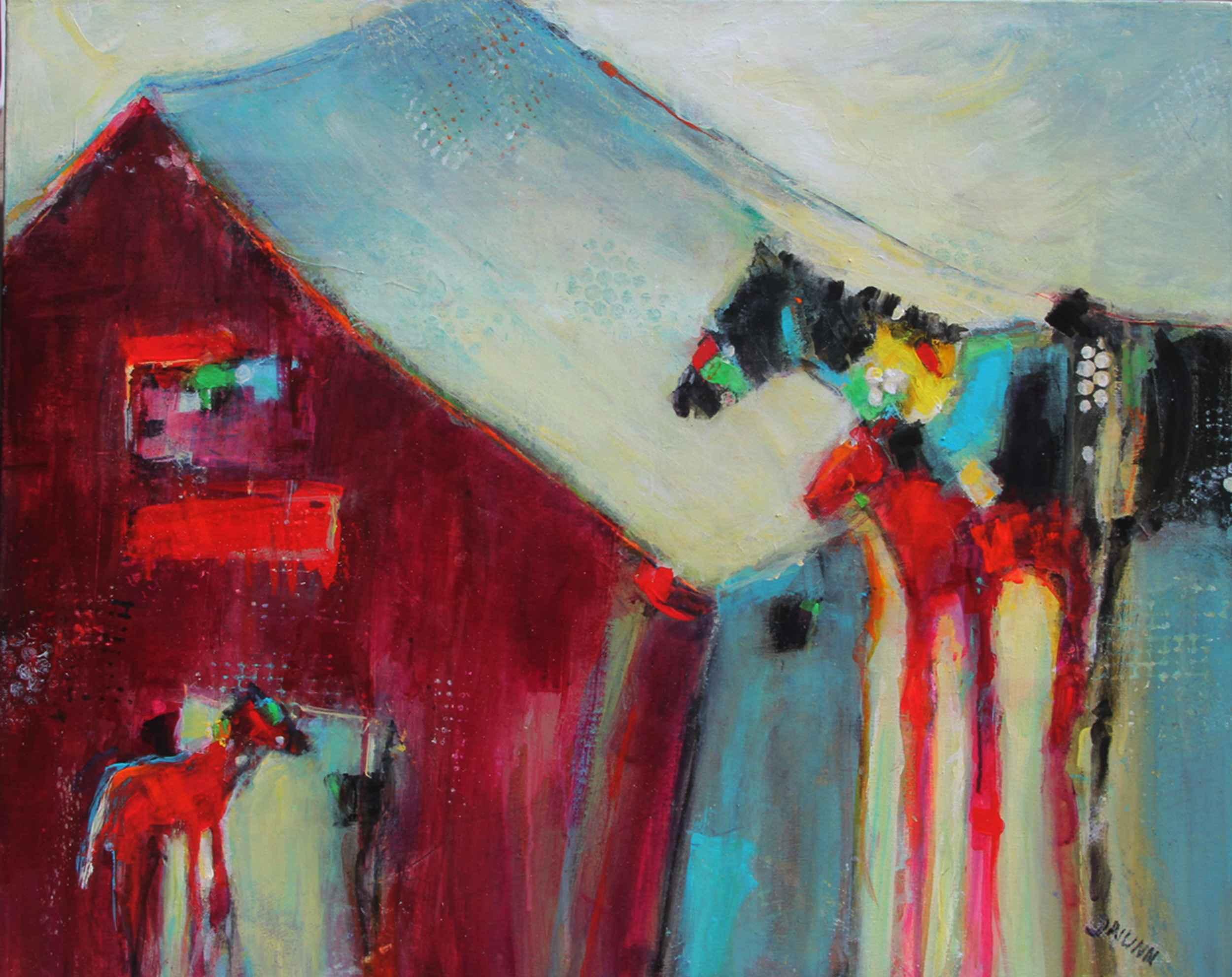 Horse Attitudes  by  Jonlee Nunn